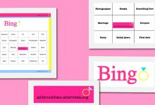 Bachelorette party bingo ! Free printable!