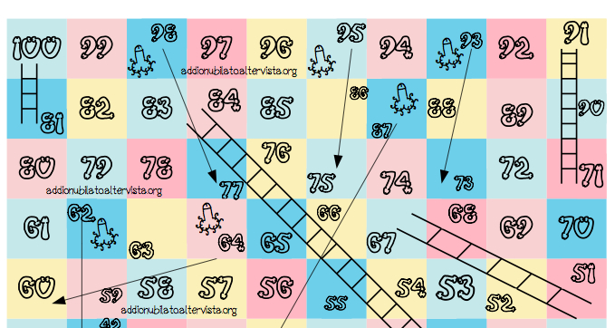 Snakes and Ladders for the bachelorette