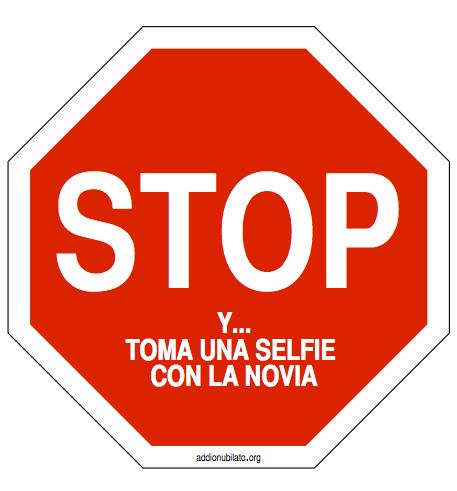 El Juego del señal de Stop para despedida de soltera