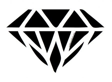 Diamonds garland