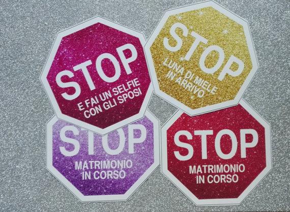 Stop per matrimonio