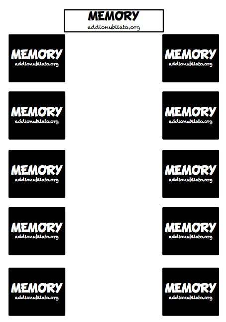 Free Printable Hen Party Memory Game