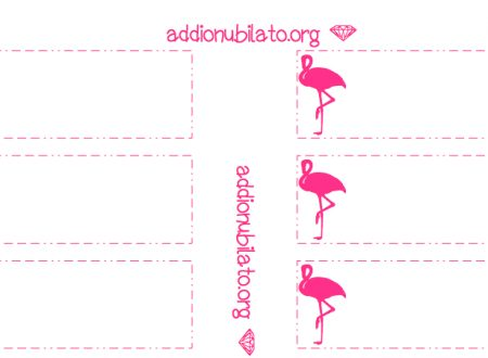 Printable Pink Flamingo Straw Decorations and Photo Booth Props!