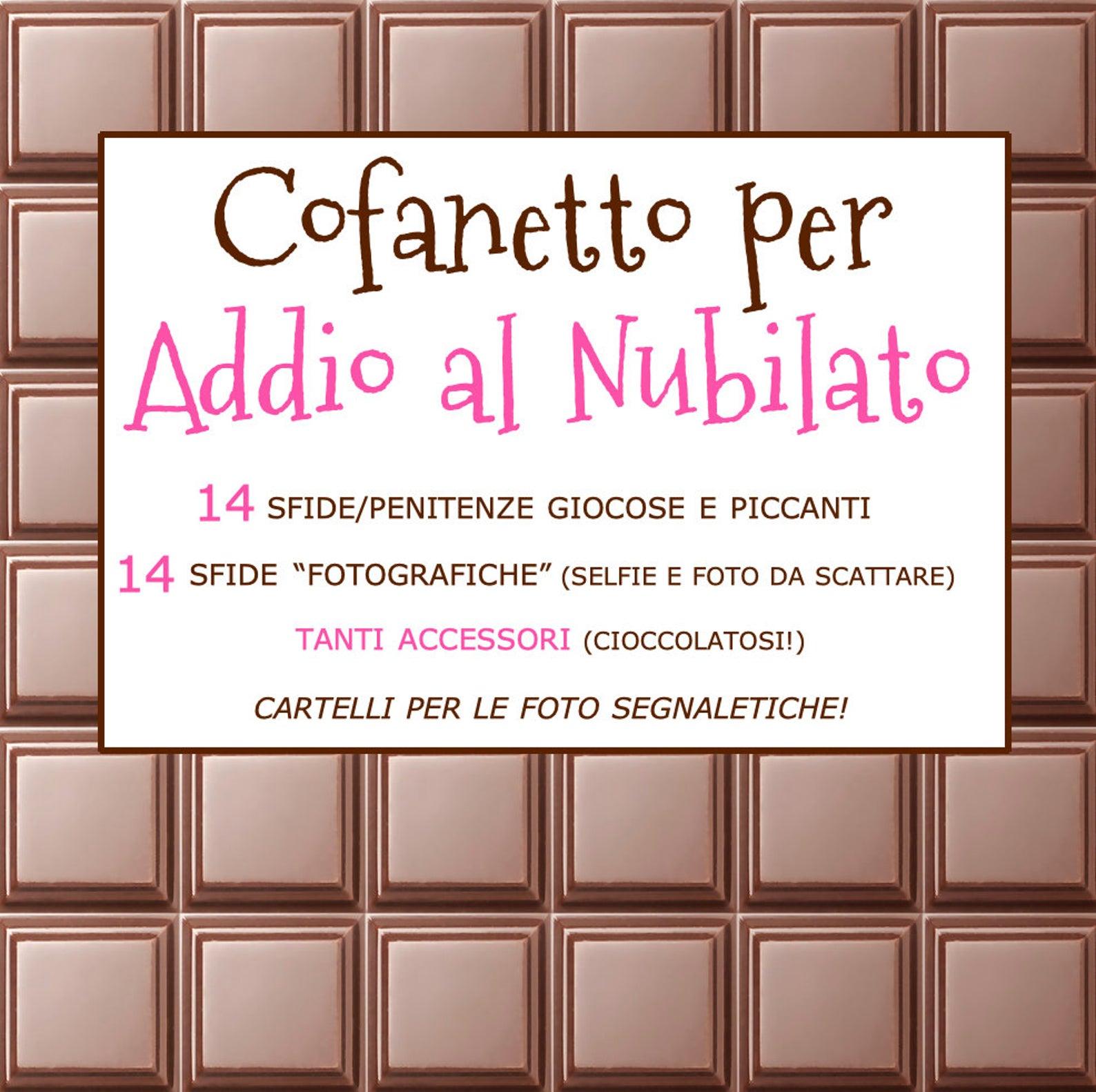 Addio al nubilato cioccolata